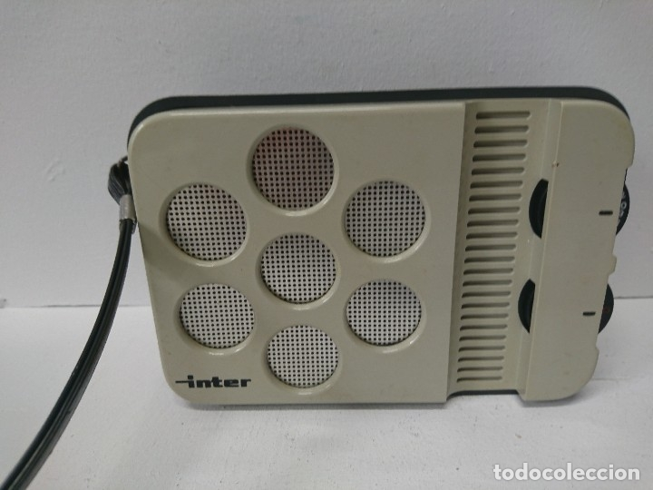 Radios antiguas: 192-Radio transistor Ínter E-144 - Foto 4 - 182581883