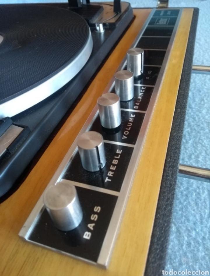 Radios antiguas: Enorme tocadiscos Dual. - Foto 2 - 182600532