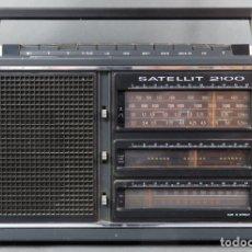 Radios antiguas: RADIO GRUNDIG SATELLIT 2100 MULTIBANDAS FUNCIONA. Lote 182605486