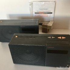 Radios antiguas: RADIO DESPERTADOR NAKAMICHI JAPON-CONJUNTO DE 2 APARATOS-ALTA FIDELIDAD STEREO-VINTAGE. Lote 182607432