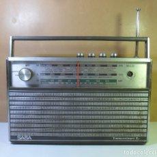 Radios antiguas: VINTAGE – RADIO ALEMANA MARCA SABA , TRANSCONTINENT EL . Lote 182769548