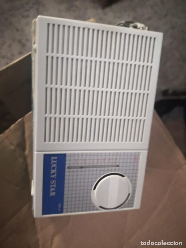 RADIO SOLID STATE LUCKY STAR. MODELO HS-831.EN SU CAJA (Radios, Gramófonos, Grabadoras y Otros - Transistores, Pick-ups y Otros)
