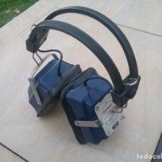 Radios antiguas: CASCOS AURICULARES RADIO VINTAGE PATINAJE. Lote 182908570