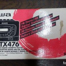 Radios antiguas: AIWA HS-TX476 AM/FM STEREO RADIO CASSETTE PLAYER. Lote 183020950