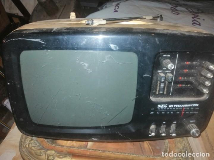 RADIO TELEVION NEC JAPONESA (Radios, Gramófonos, Grabadoras y Otros - Transistores, Pick-ups y Otros)