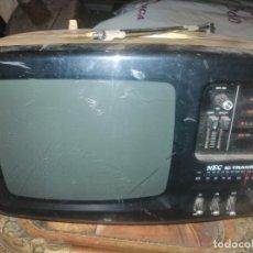 Radios antiguas: RADIO TELEVION NEC JAPONESA. Lote 183318753