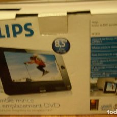 Radios antiguas: PHILIPS REPRODUCTOR DVD PORTATIL - PET835. Lote 183504787