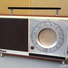 Radios antiguas: RADIO VINTAGE INTER NIZA FM, COMPLETA Y FUNCIONANDO. Lote 183607801