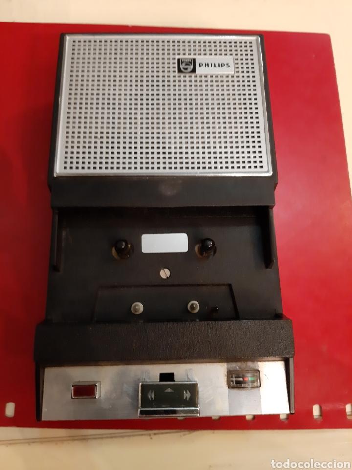 REPRODUCTOR DE AUDIO CASSET PHILIPS REVISAR (Radios, Gramófonos, Grabadoras y Otros - Transistores, Pick-ups y Otros)