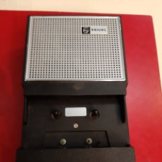 Radios antiguas: REPRODUCTOR DE AUDIO CASSET PHILIPS REVISAR. Lote 183703563