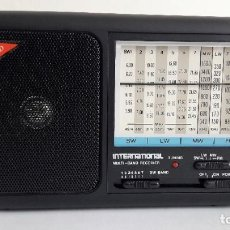 Radios antiguas: RADIO TRANSISTOR INTERNATIONAL MODELO AC100, NUEVO, SIN ESTRENAR.. Lote 183740368