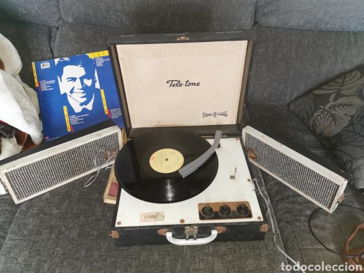 PICK-UP TELE-TONE. USA. AÑOS 50. FUNCIONA (Radios, Gramófonos, Grabadoras y Otros - Transistores, Pick-ups y Otros)
