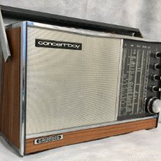 Radios antiguas: RADIO TRANSISTOR GRUNDIG CONCERTBOY ANTIGUO. Lote 184142870