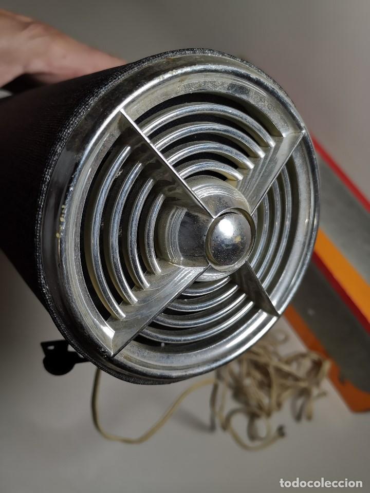 Radios antiguas: Altavoces auxiliares- Columna sonora INERSA - Años 60 -En su caja original-automovil..MODELO CROMADO - Foto 19 - 184218987