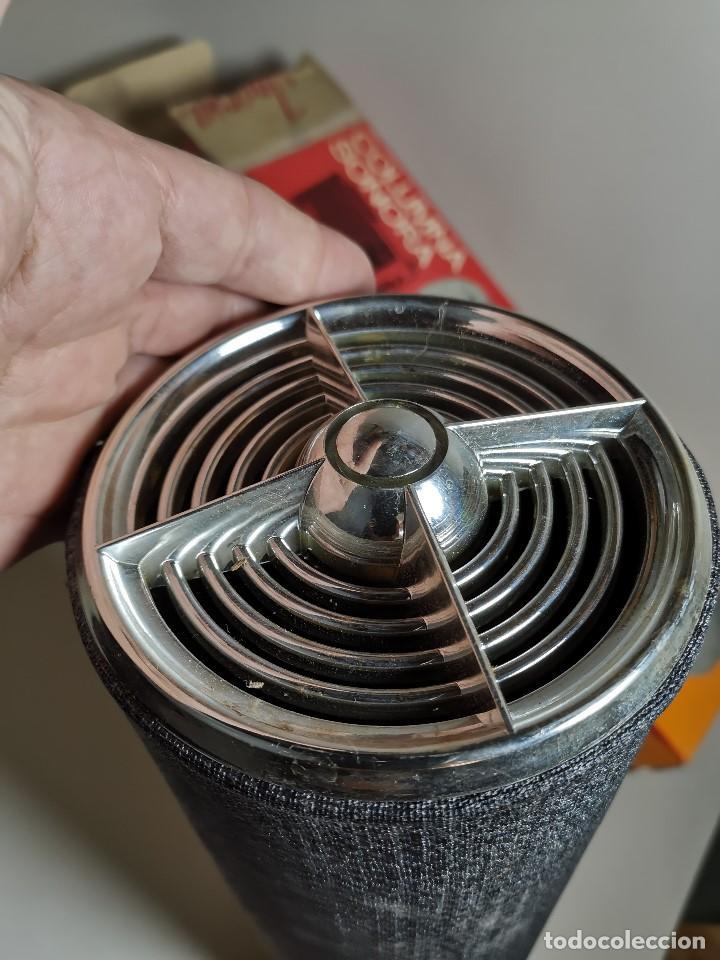 Radios antiguas: Altavoces auxiliares- Columna sonora INERSA - Años 60 -En su caja original-automovil..MODELO CROMADO - Foto 21 - 184218987