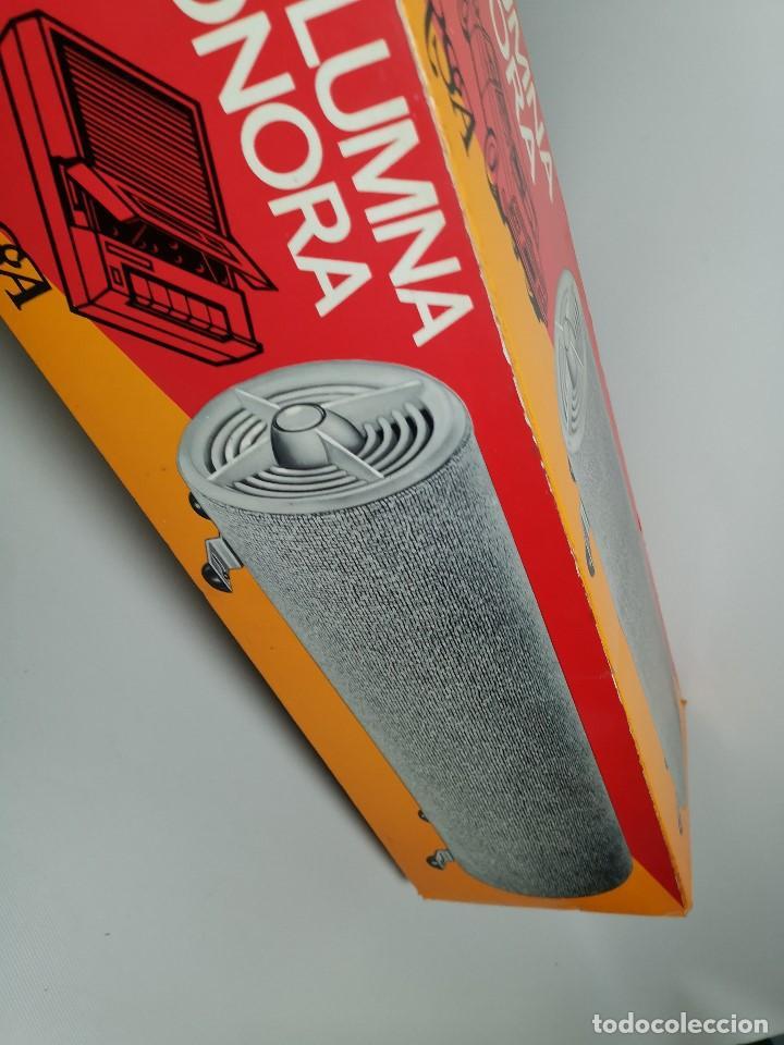 Radios antiguas: Altavoces auxiliares- Columna sonora INERSA - Años 60 -En su caja original-automovil..MODELO CROMADO - Foto 32 - 184218987