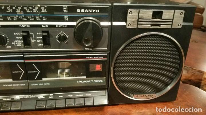 Radios antiguas: RADIOCASSETTE SANYO MODEL NO. M W170K - Foto 3 - 184242938