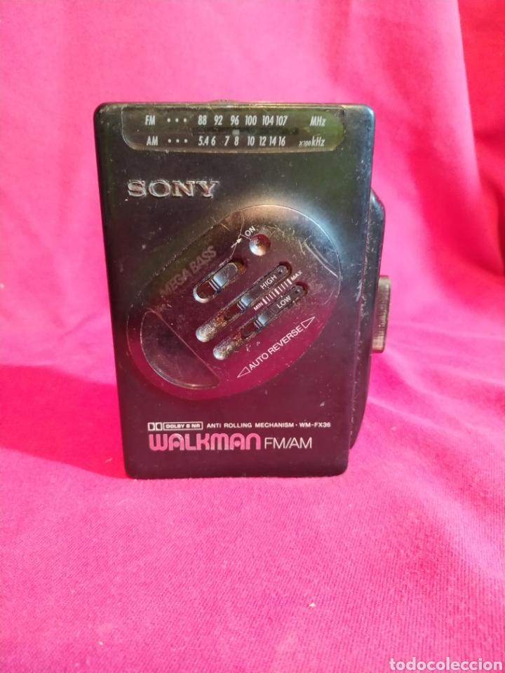 WALKMAN SONY WM-FX36 AÑO 1991 - PROBADO (Radios, Gramófonos, Grabadoras y Otros - Transistores, Pick-ups y Otros)