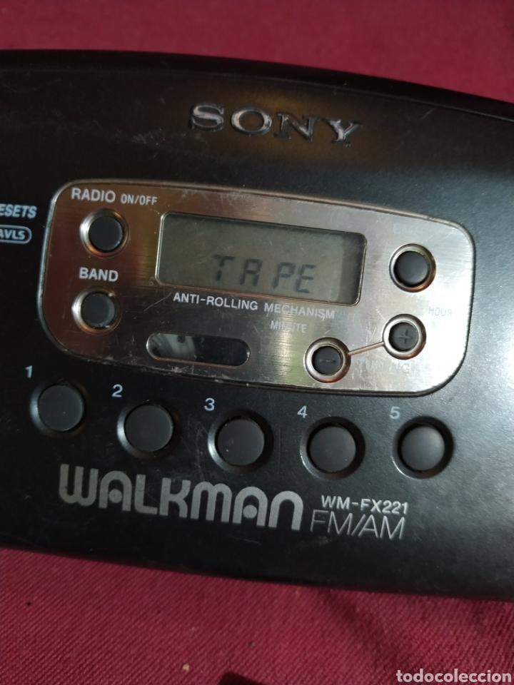 Radios antiguas: Walkman Sony modelo wm-fx221 año 1995 - probada - Foto 10 - 184318437
