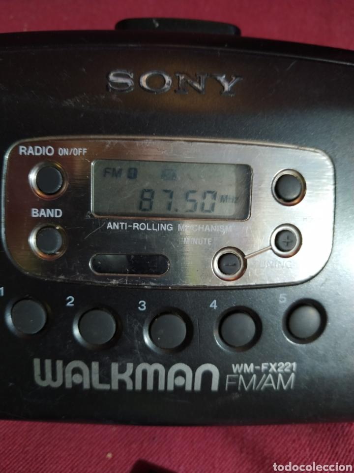 Radios antiguas: Walkman Sony modelo wm-fx221 año 1995 - probada - Foto 11 - 184318437