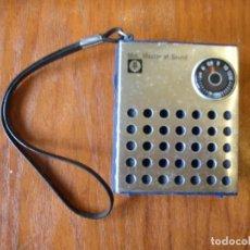 Radios antiguas: RADIO TRANSISTOR MINI MASTER OF SOUND FUNCIONANDO BIEN. Lote 184381897