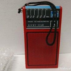Radios antiguas: 206-RADIO TRANSISTOR LUCKY STAR HFM 836. Lote 184400152