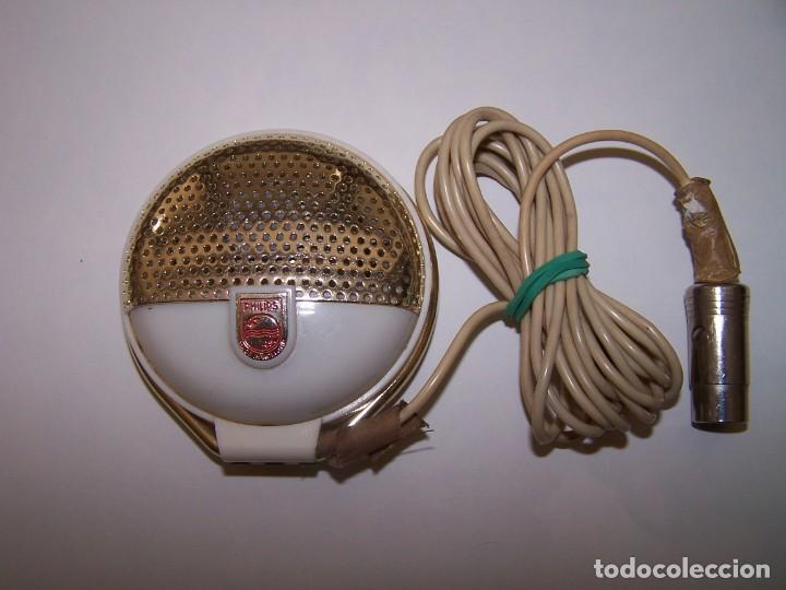 Radios antiguas: MICROFONO VINTAGE. PHILIPS, MADE IN HOLLAND. - Foto 2 - 184525215