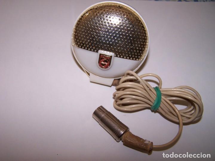 Radios antiguas: MICROFONO VINTAGE. PHILIPS, MADE IN HOLLAND. - Foto 3 - 184525215