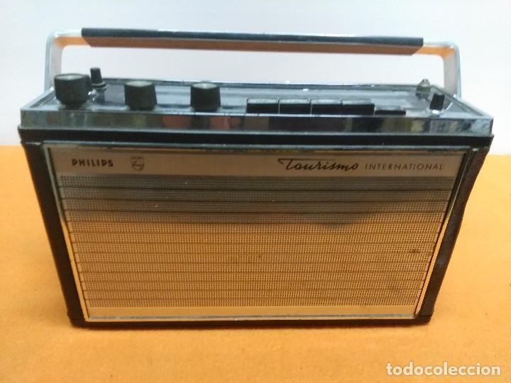 PHILIPS 1967 GRAN TOURISMO AUTOMATIK 12RP674 ALEMANIA (Radios, Gramófonos, Grabadoras y Otros - Transistores, Pick-ups y Otros)