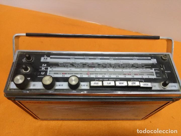 Radios antiguas: philips 1967 Gran Tourismo Automatik 12RP674 alemania - Foto 9 - 184526515