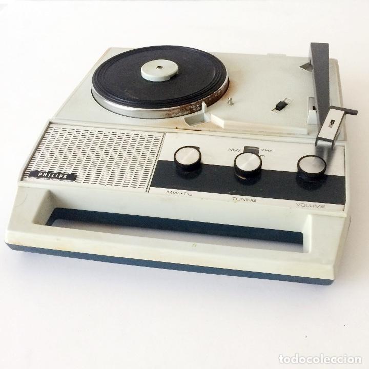 PICKUP TOCADISCOS MALETÍN PHILLIPS (Radios, Gramófonos, Grabadoras y Otros - Transistores, Pick-ups y Otros)