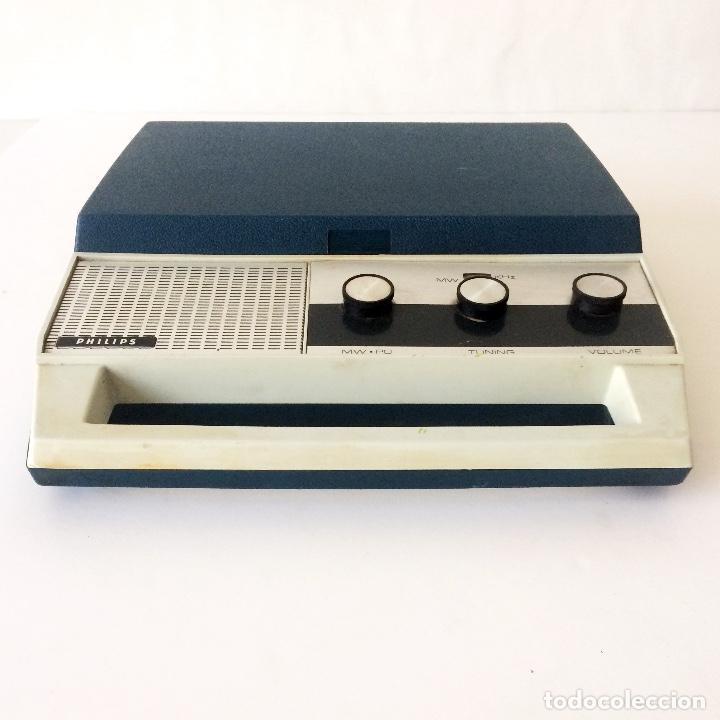 Radios antiguas: PICKUP TOCADISCOS MALETÍN PHILLIPS - Foto 4 - 184836365