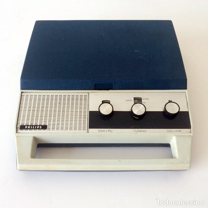 Radios antiguas: PICKUP TOCADISCOS MALETÍN PHILLIPS - Foto 5 - 184836365