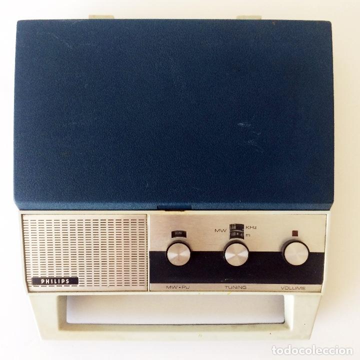 Radios antiguas: PICKUP TOCADISCOS MALETÍN PHILLIPS - Foto 6 - 184836365