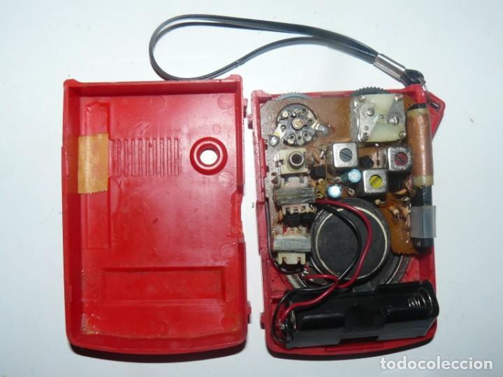 Radios antiguas: RADIO TRANSISTOR AM POCKET RADIO - Foto 2 - 185666848