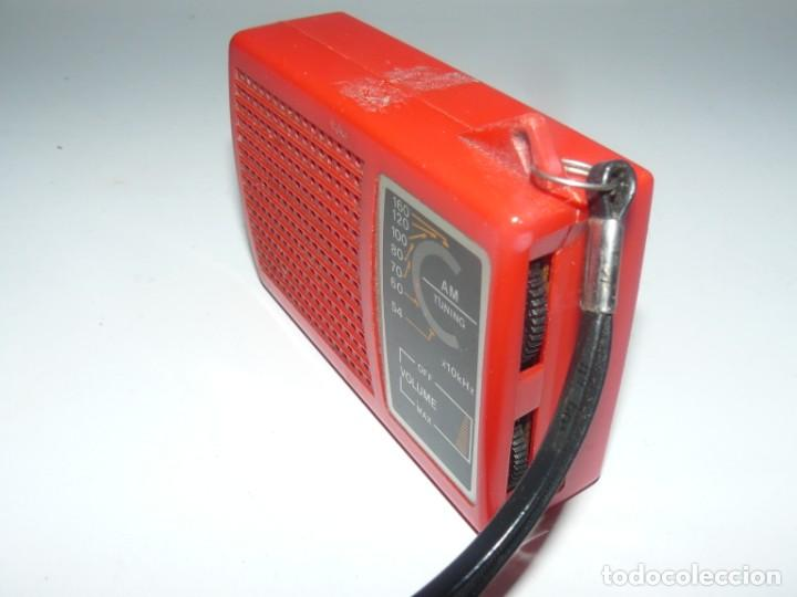 Radios antiguas: RADIO TRANSISTOR AM POCKET RADIO - Foto 3 - 185666848