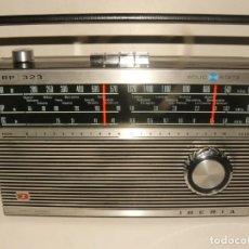 Radios antiguas: RADIO TRANSISTOR IBERIA SOLID STATE RP - 323 AÑO 1976. Lote 185671543