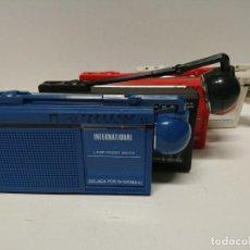 Radios antiguas: 245-LOTE DE RADIO TRANSISTORES INTERNATIONAL FX7. Lote 185672993