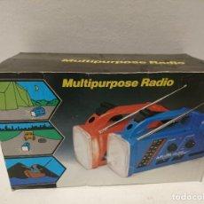 Radios antiguas: 247-RADIO TRANSISTOR LINTERNA SIRENA. Lote 185673376