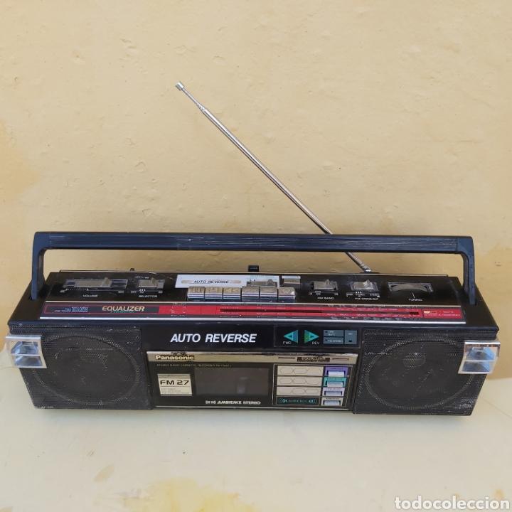 RADIOCASSETTE RETRO PANASONIC (Radios, Gramófonos, Grabadoras y Otros - Transistores, Pick-ups y Otros)