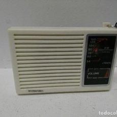 Radios antiguas: 211-RADIO TRANSISTOR INTERNATIONAL IC88. Lote 186028635
