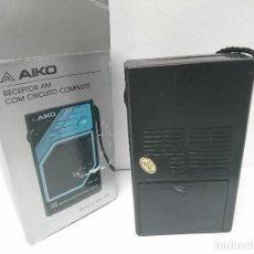 Radios antiguas: 276-RADIO TRANSISTOR AIKO AMR - 610. Lote 186108717