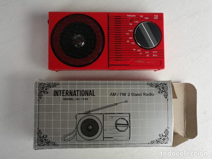Radios antiguas: LOTE RADIOS Y REPRODUCTOR CASSETE. INTERNATIONAL WF-833, SONIA SR-2168 Y ARTECH Z8 - Foto 6 - 186159691