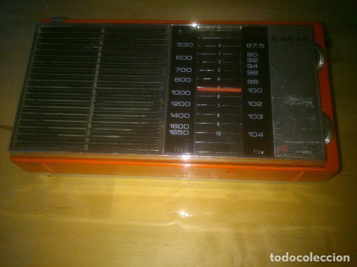 Radios antiguas: MUY RARA RADIO LAVIS 426, ESPECIAL COLECCIÓN - Foto 2 - 186188300