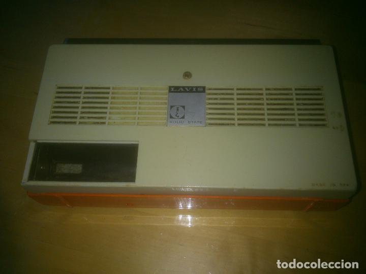 Radios antiguas: MUY RARA RADIO LAVIS 426, ESPECIAL COLECCIÓN - Foto 4 - 186188300