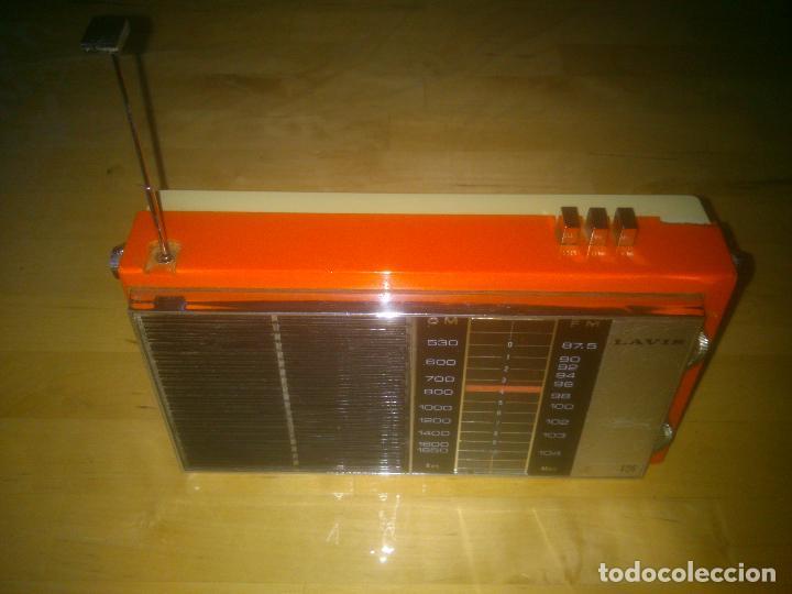 MUY RARA RADIO LAVIS 426, ESPECIAL COLECCIÓN (Radios, Gramófonos, Grabadoras y Otros - Transistores, Pick-ups y Otros)