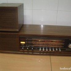 Radios antiguas: MAGNIFICA RADIO GRUNDIG RF 265 SENDERWAHL, AÑOS 60, FUNCIONANDO. Lote 186295398