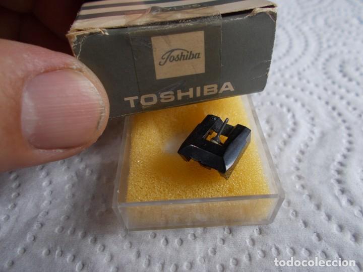 Radios antiguas: envio con tc: 3€ AGUJA PARA TOCADISCOS: toshiba stylus DIAMANTE n-60Y Nueva - Foto 2 - 186298692