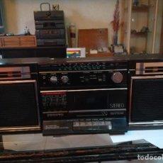 Radios antiguas: RADIO CASSETTE SANYO. STEREO.GRAN TAMAÑO. Lote 186310797