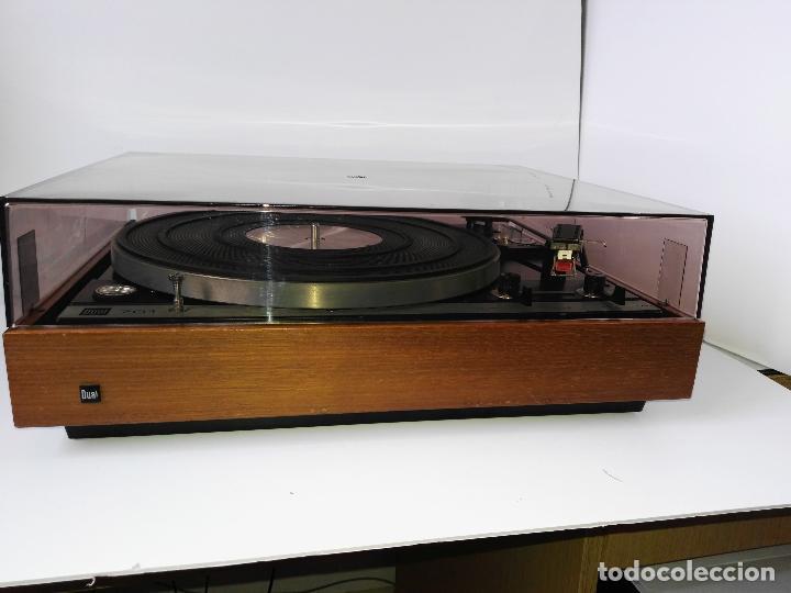 Radios antiguas: DUAL 701 (tocadiscos) Uno de los platos mas buscados y valorados (ver...) - Foto 10 - 186339326